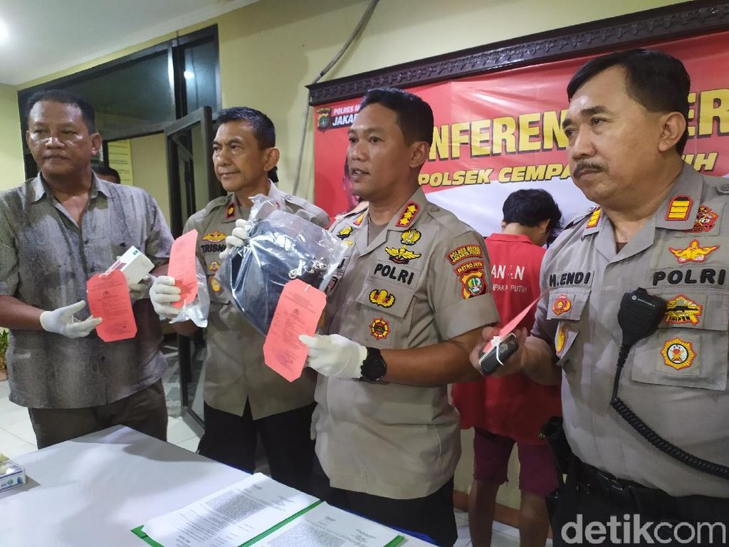 Polisi Tangkap 3 Jambret di Cempaka Putih, 1 DPO
