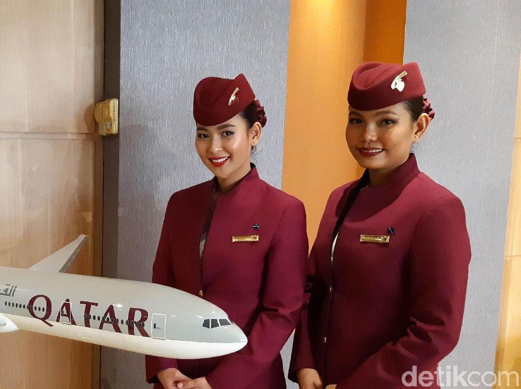 Ini Keistimewaan Menu Baru Qatar Airways Bagi Penumpang Indonesia