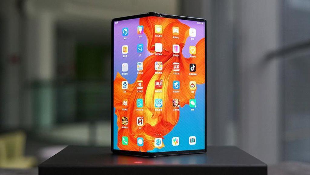 Lebih Dekat dengan Ponsel Sultan Huawei Mate Xs Harga Rp 38 Juta