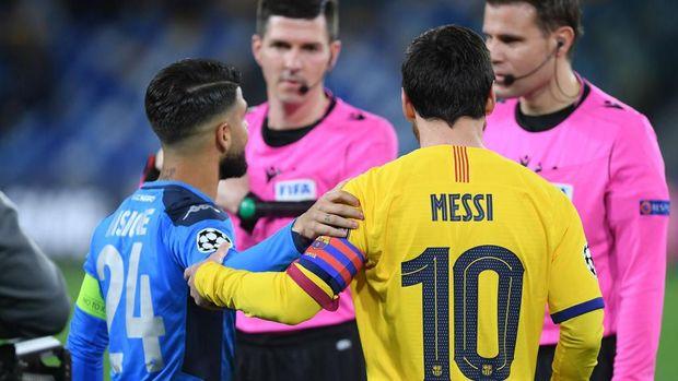 Ini Cara Insigne agar Bisa Tuker Jersey dengan Messi