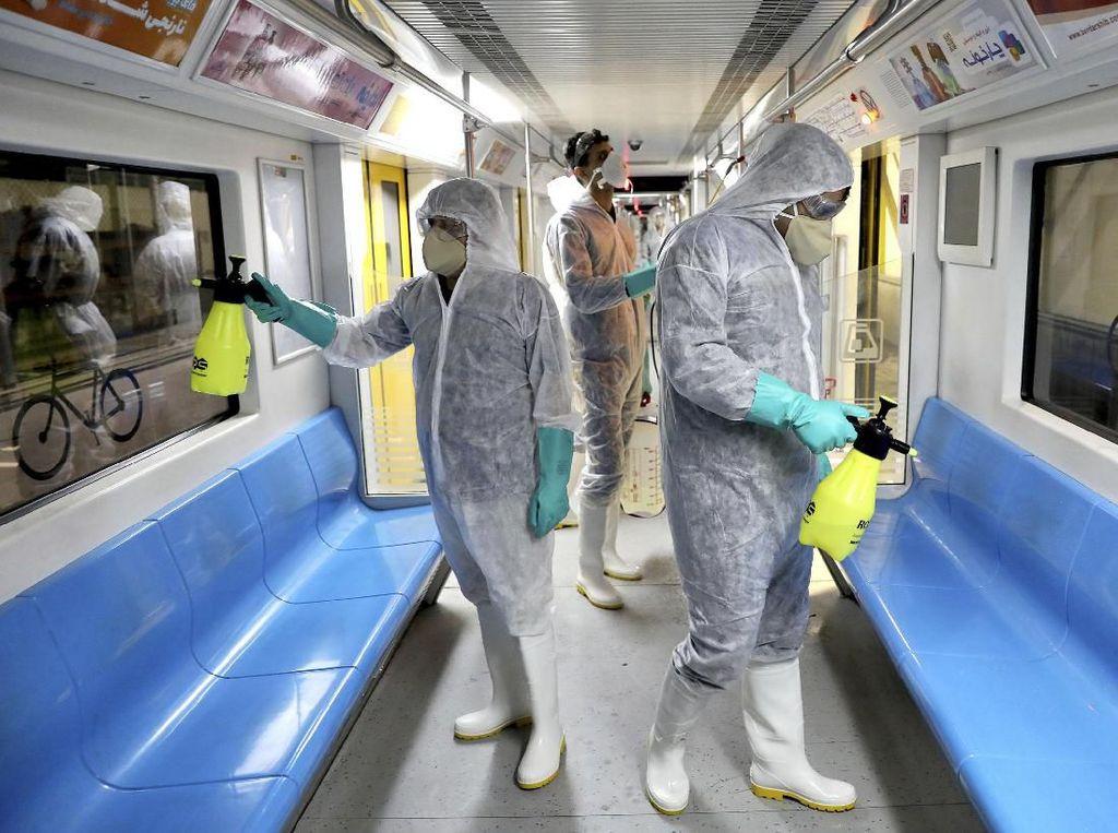 Sudah 388 Orang Positif Virus Corona di Iran, 34 Meninggal