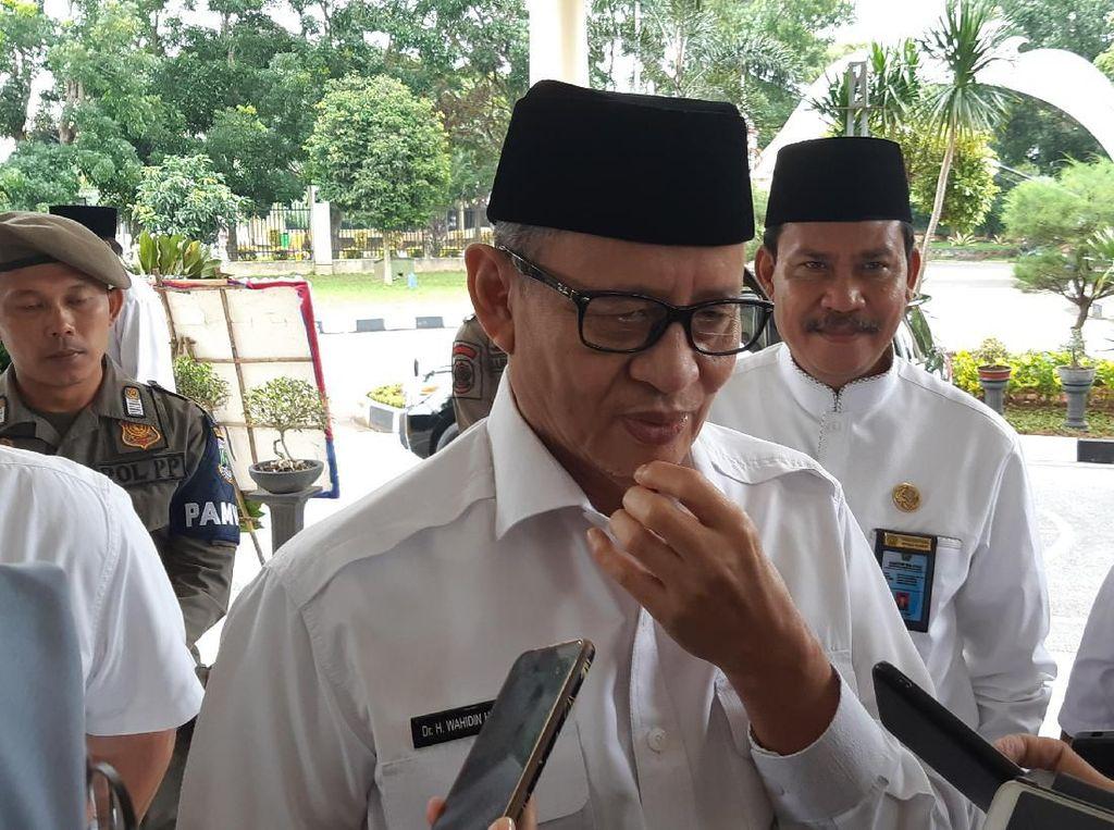 Soal Realokasi APBD, Gubernur Banten Ingin Tambah Ruang Isolasi
