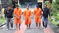 Ngamuk Gegara Knalpot Brong, 3 Pria di Denpasar Ditangkap
