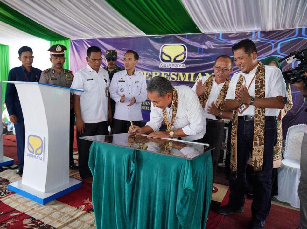 Genjot Target EBT, Brantas Abipraya Resmikan PLTM Sako-1