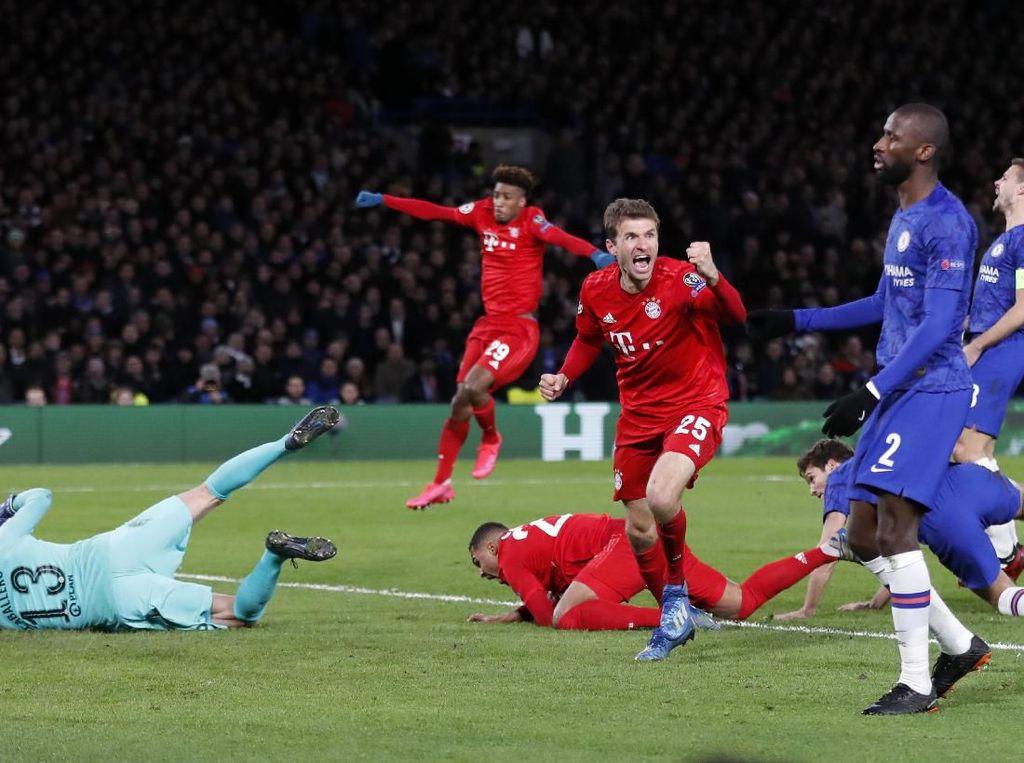 Chelsea Ibarat Diajari Bayern Bermain Sepakbola