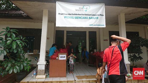 Mengungsi Bersama, Tanpa Diskriminasi, di Gereja Kebon Pala