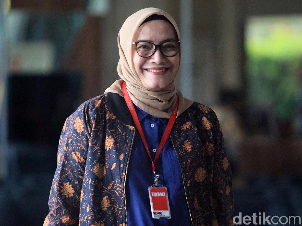 Komisioner KPU Evi Novida Ginting Positif COVID-19