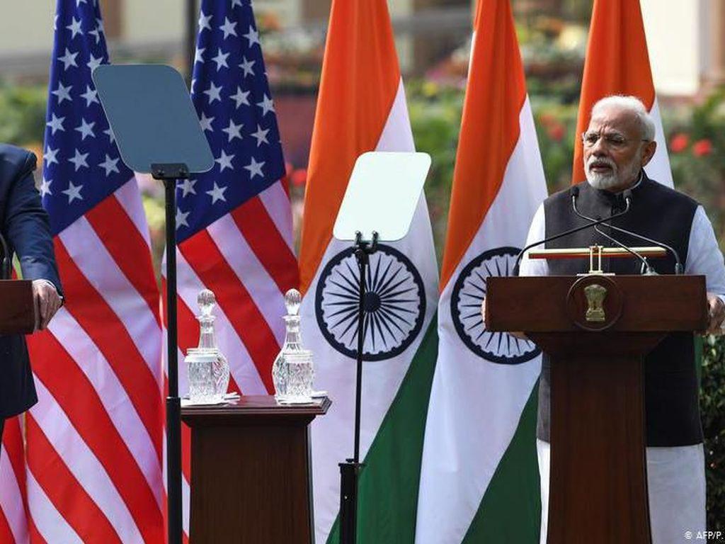 Trump dan Modi Bahas Kesepakatan Dagang AS-India