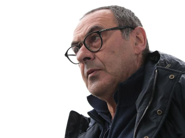TURIN, ITALY - FEBRUARY 16:  Juventus coach Maurizio Sarri looks on during the Serie A match between Juventus and Brescia Calcio at Allianz Stadium on February 16, 2020 in Turin, Italy.  (Photo by Emilio Andreoli/Getty Images)