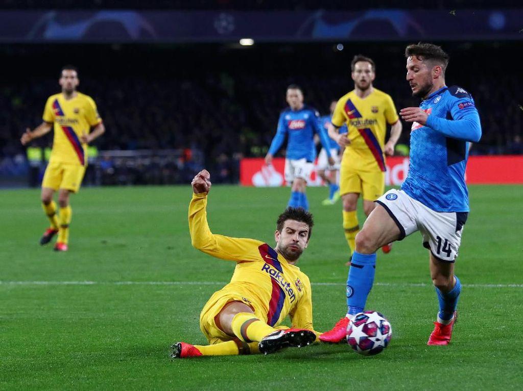 Napoli Harus Yakin Bisa Kalahkan Barcelona