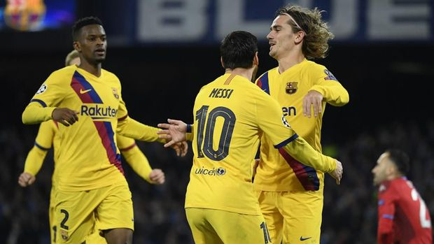 Antoine Griezmann menyelamatkan Barcelona dari kekalahan.