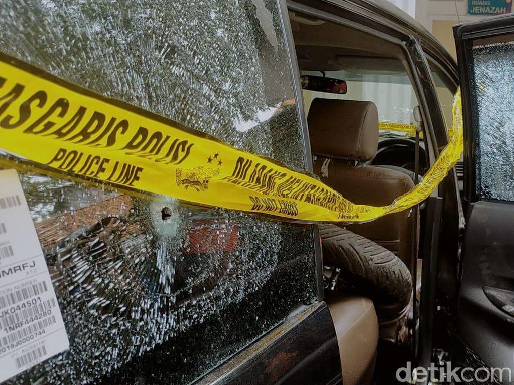 Mobil 3 Begal yang Dikirim ke Akhirat Diberondong Peluru, Ini Penampakannya