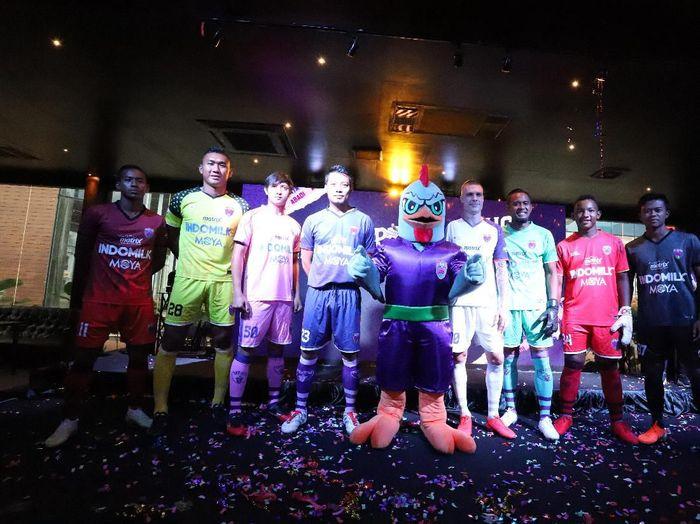 Launching tim Persita Tangerang jelang Liga 1 2020.
