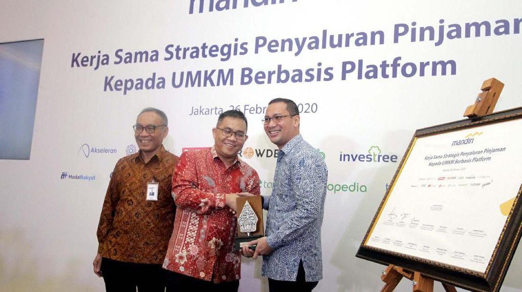 Gandeng Fintech, Bank Mandiri Salurkan Kredit ke UMKM