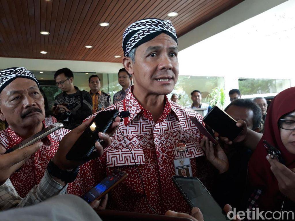 Ganjar-FKUB Bahas Pelaksanaan Upacara Agama di Tengah Pandemi Corona