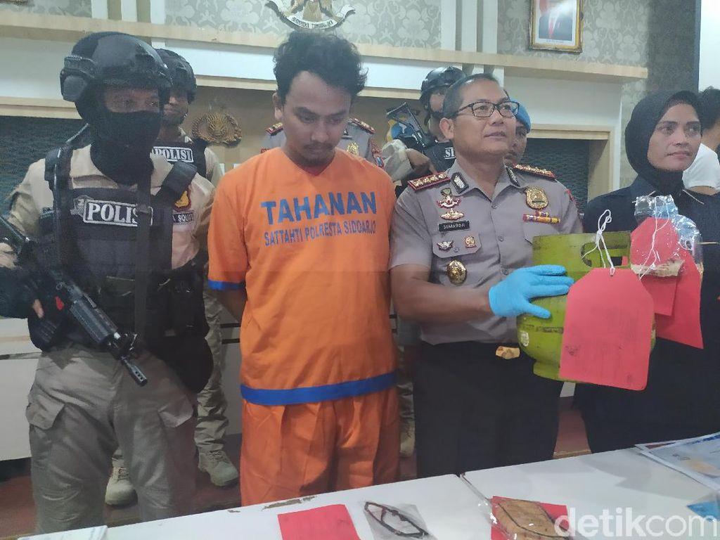 Pembunuh Ibu Rumah Tangga di Sidoarjo Tertangkap, Pelaku Menantu Sendiri