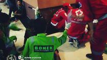 Keren, Bonek Green Nord 27 Punya Tim Medis Sendiri di Stadion GBT