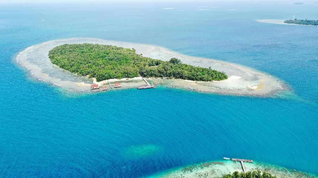 Pesona Pulau Sebaru yang Jadi Lokasi Observasi ABK World Dream