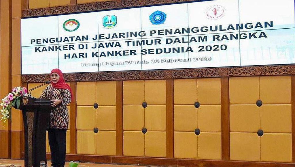 Gubernur Khofifah Galakkan Layanan Paliatif Berbasis Pesantren