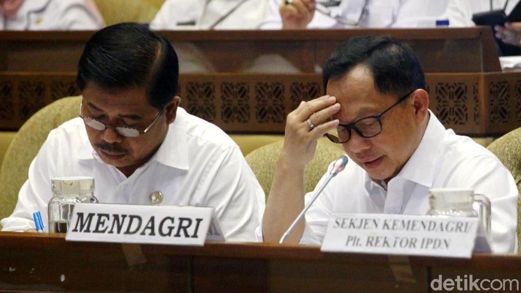 Bersama Komisi II, Tito Bahas Pilkada 2020 hingga RUU Otonomi Papua