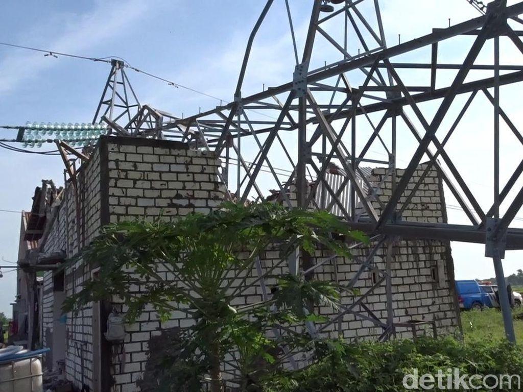 Dipasangi Tower Emergency, 3 Kabupaten di Jateng Diterangi Listrik Lagi