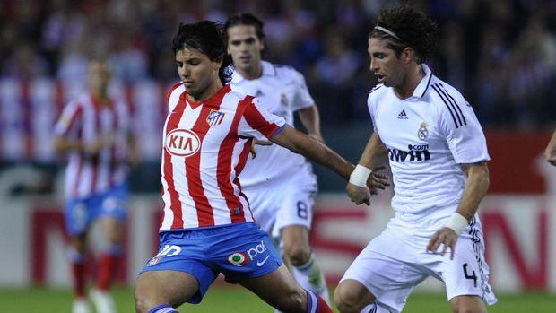 Aguero Vs Real Madrid