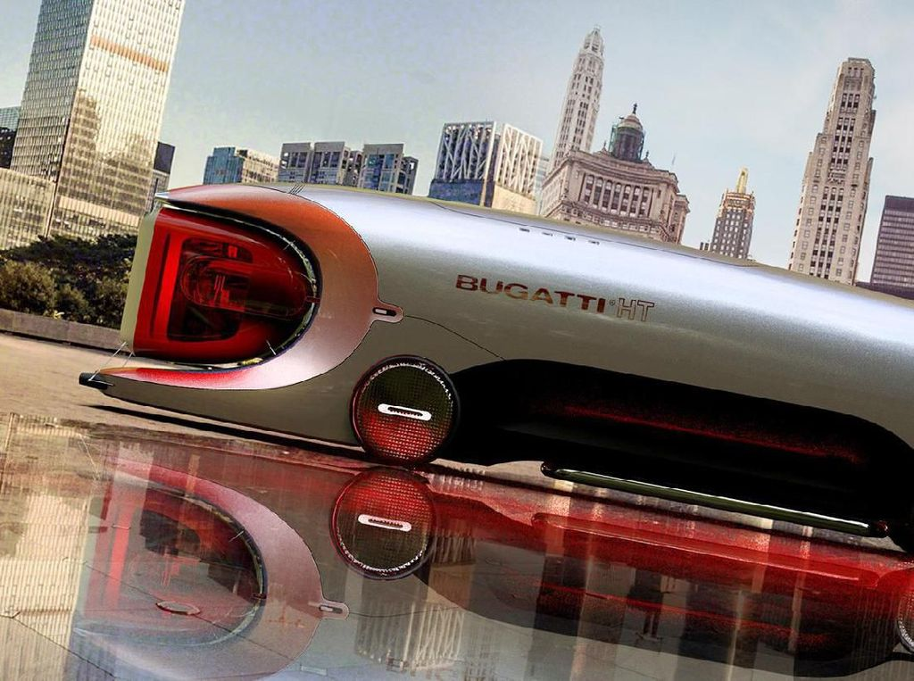 Begini Jadinya Kalau Bugatti Bikin Truk