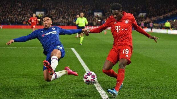 Chelsea kalah 0-3 dari Munchen di kandang sendiri.