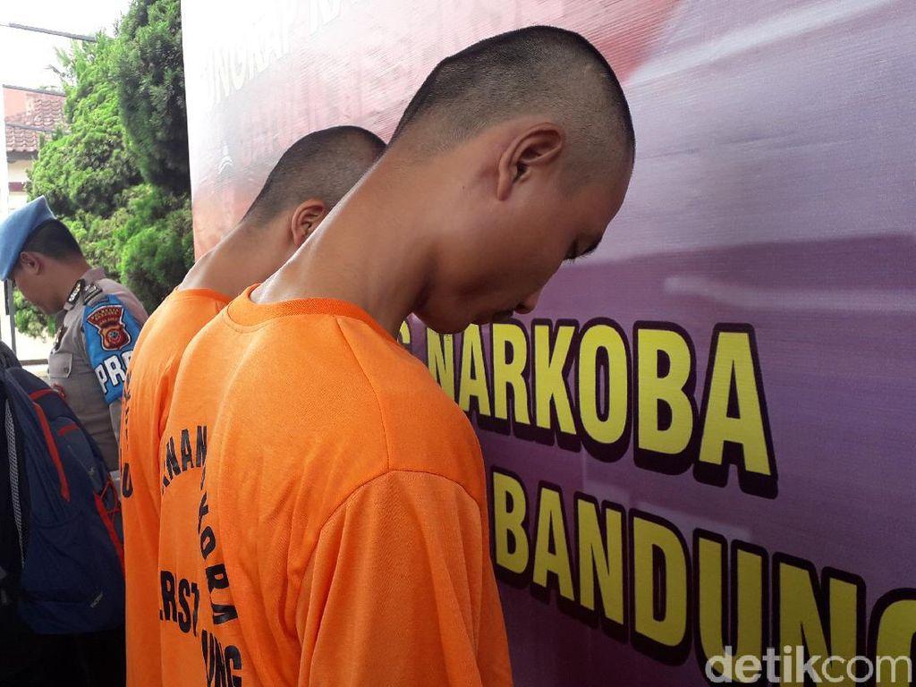 Racik Tembakau Gorilla, 2 Pemuda Bandung Ditangkap Polisi