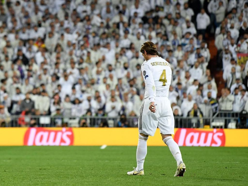 Real Madrid Mau Banding Kartu Merah Sergio Ramos