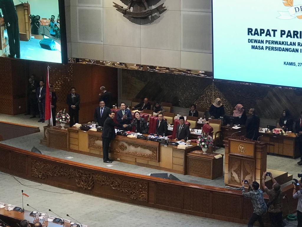 Sah! DPR Tetapkan Raka Sandi Jadi Komisioner KPU Pengganti Wahyu Setiawan