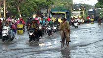 Banjir di Jalur Pantura Pasuruan Belum Surut, Lalin Merambat