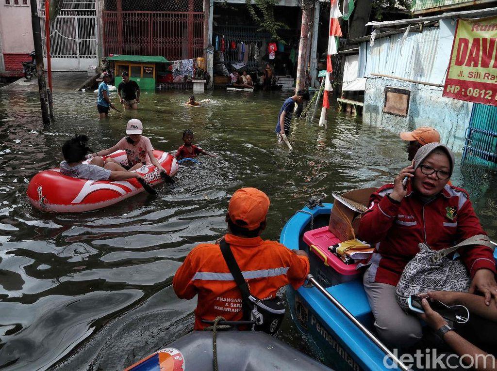 PDIP: Usulan Solusi Banjir 2 Cawagub DKI Bisa Dikolaborasi