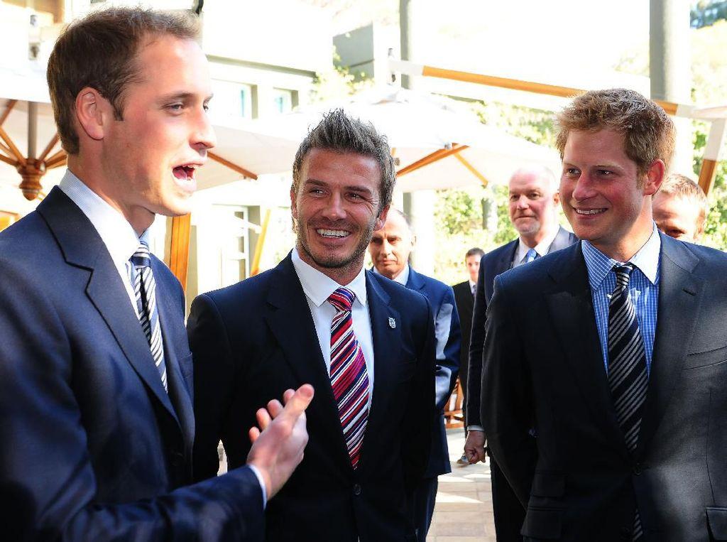 David Beckham Puji Pangeran Harry: Ia Menakjubkan