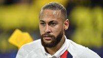 Prancis Lockdown, Neymar Pulang Kampung ke Brasil