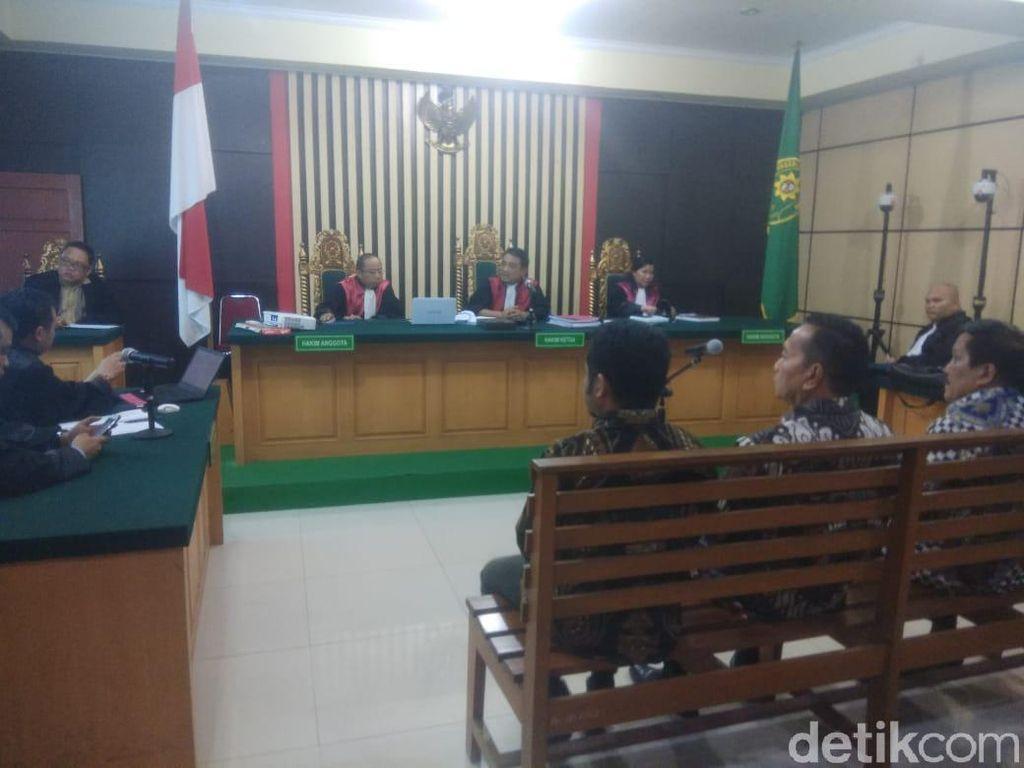 Korupsi Uang Ketok Palu Jambi, 3 Eks DPRD Jambi Divonis 4 Tahun Bui