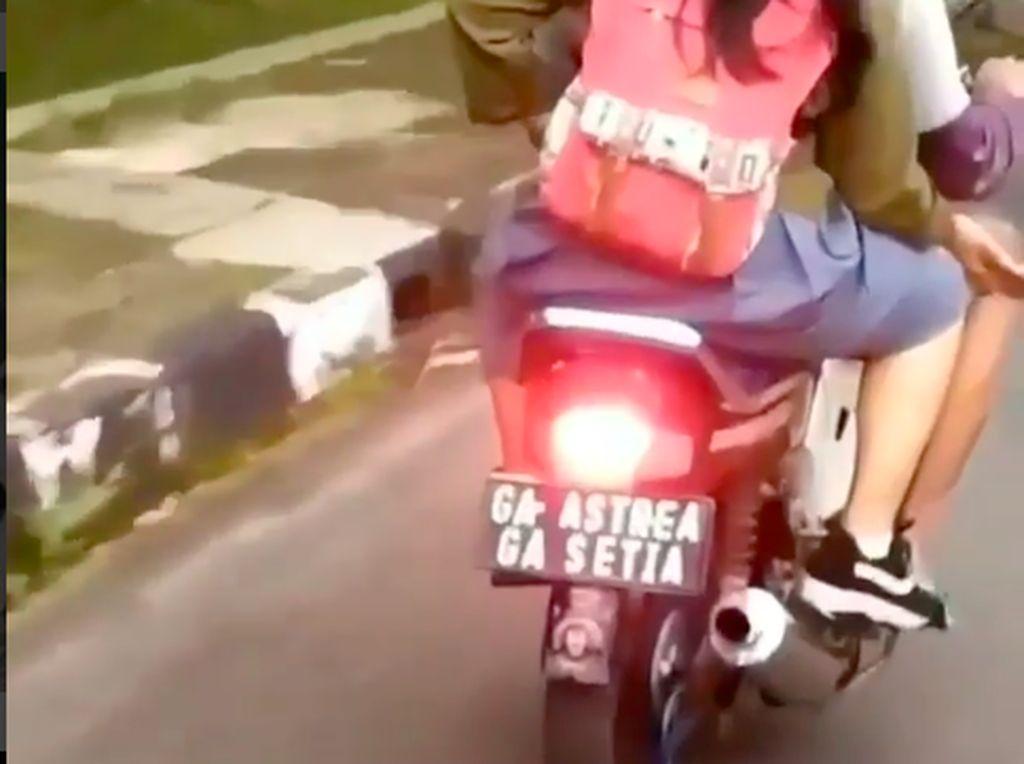 Ada Pelat Nomor Ga Astrea Ga Setia, Pecinta Honda BeAT Komentar