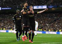 Manchester City kandaskan Real Madrid 2-1