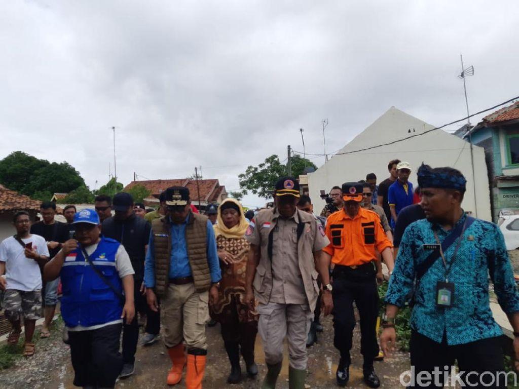 Tinjau Banjir Subang, Ridwan Kamil Singgung Kewenangan Berjenjang