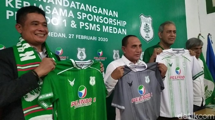 Edy Rahmayadi - PSMS Medan