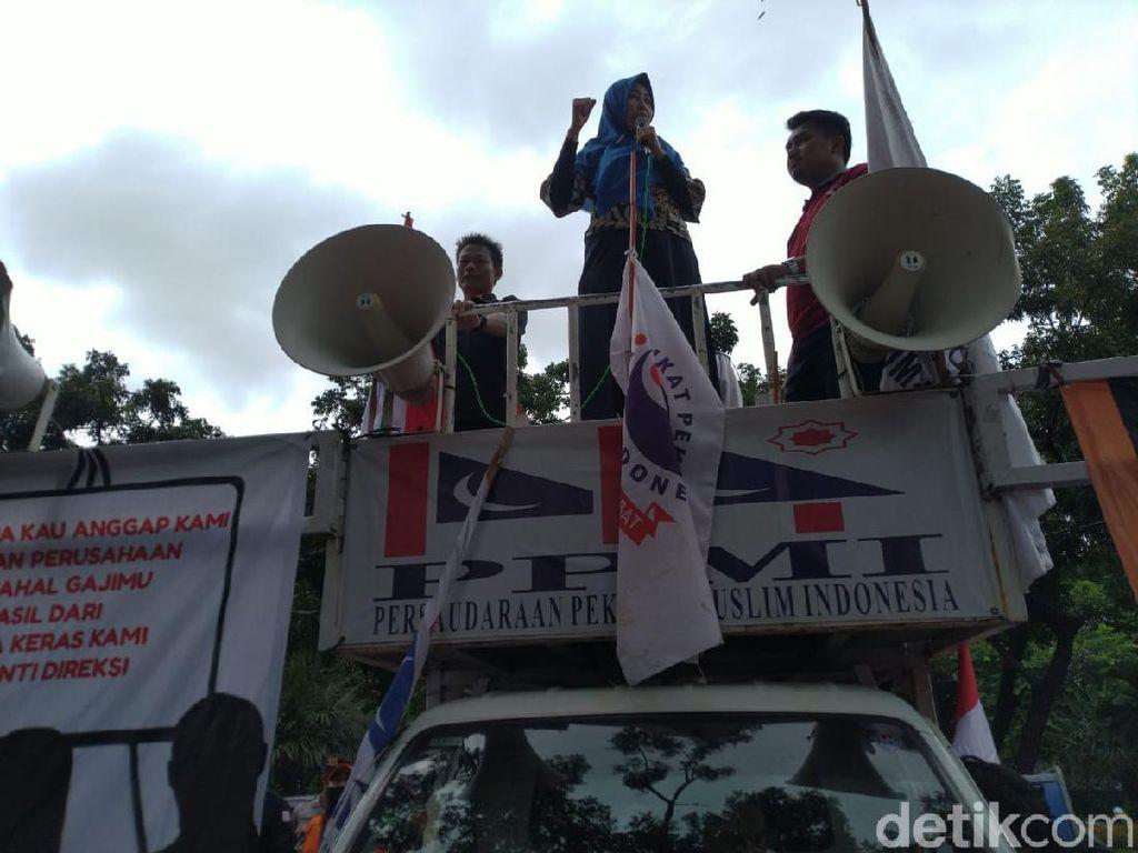 Demo di Kementerian, Serikat Pekerja Minta Erick Thohir Bersih-bersih BUMN