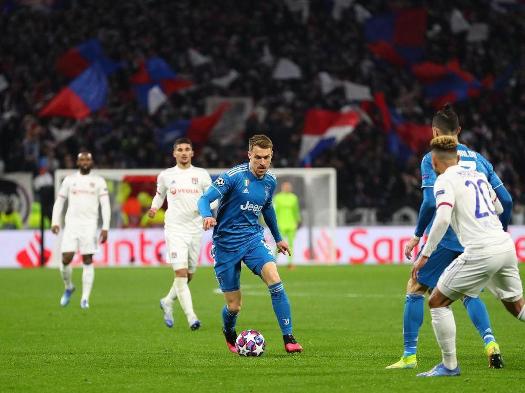 Juventus Dihukum Penampilan Buruk di Babak Pertama