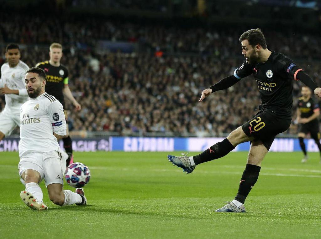 Real Madrid vs Manchester City Masih Tanpa Gol di Babak Pertama