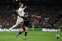 Real Madrid dikandaskan Manchester City di leg pertama babak 16 besar Liga Champions 1-2
