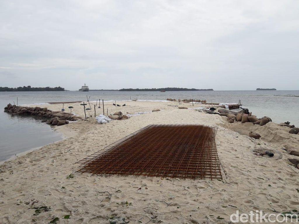 Tingkatkan Kesiagaan Observasi Corona, Helipad Dibangun di Pulau Sebaru