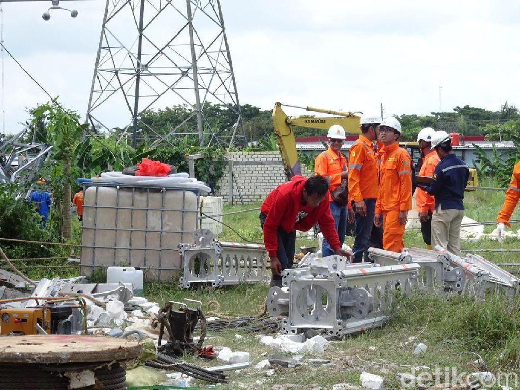 Daftar Lokasi di Rembang-Pati-Blora yang Masih Mati Listrik Sejak Kemarin