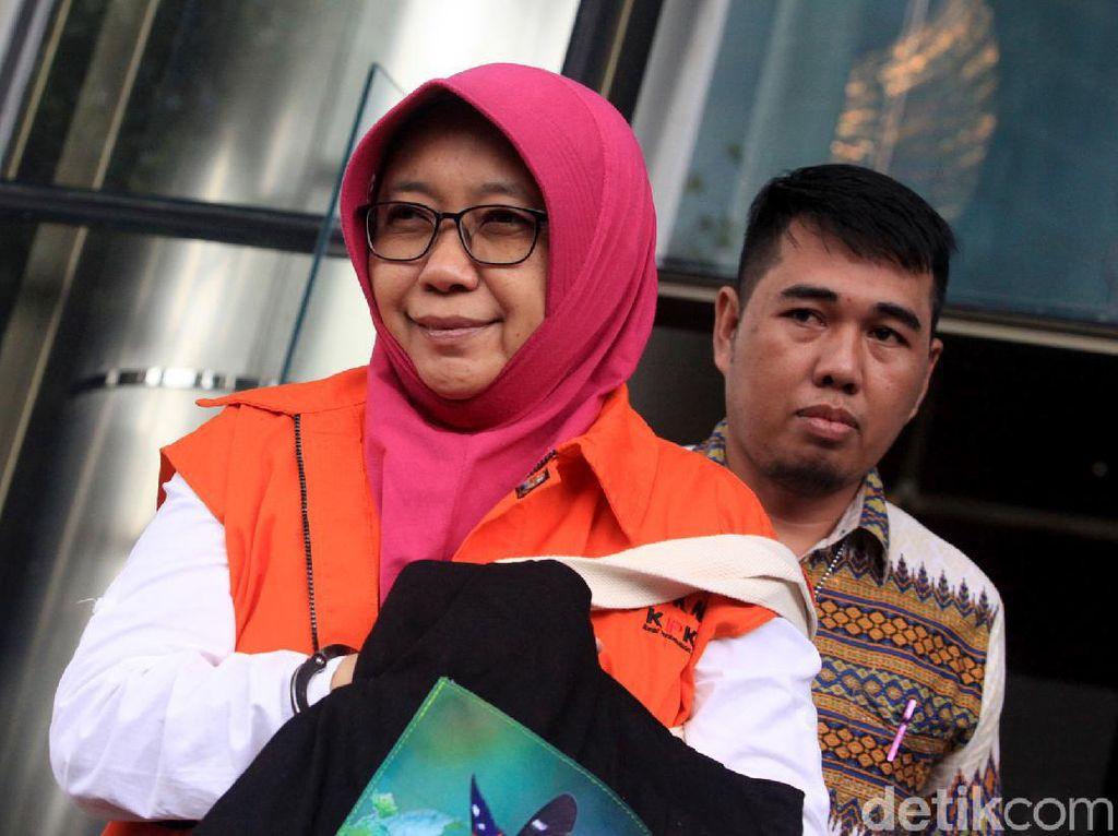KPK Eksekusi Anak Buah Bupati Sidoarjo Nonaktif ke Rutan Perempuan Porong