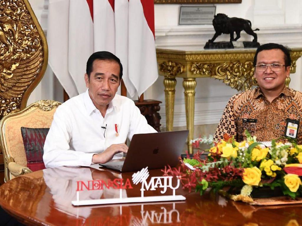Isi SPT Online, Jokowi: Banyak yang Punya NPWP Belum Lapor