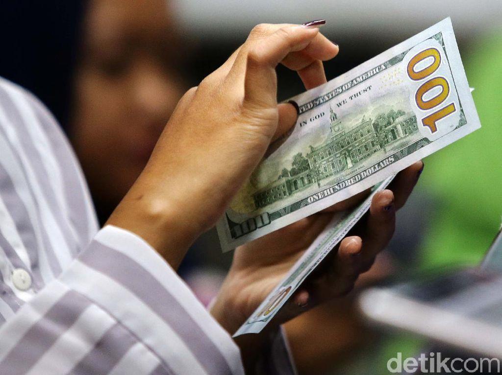 Dolar AS Mereda ke Rp 14.162