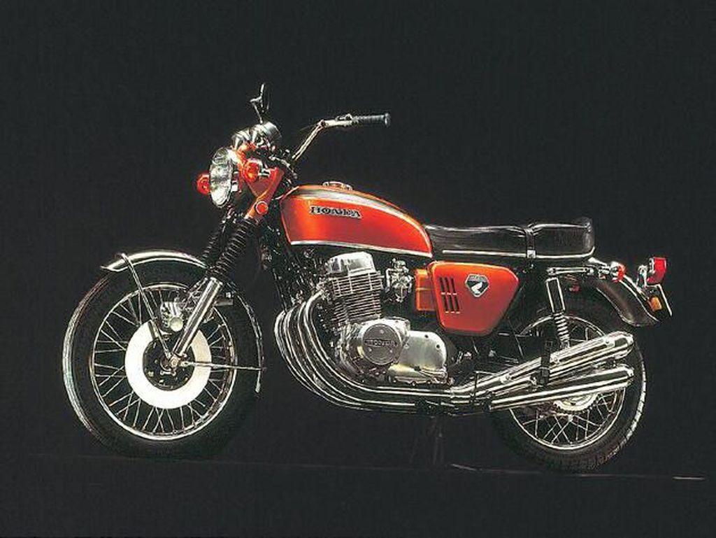 Motor Pertama di Dunia yang Pakai Rem Cakram